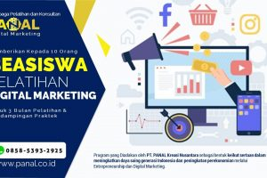 Program Beasiswa Pelatihan Digital Marketing - WA 0858-5393-2925