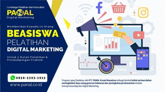 Program Beasiswa Pelatihan Digital Marketing – WA 0858-5393-2925