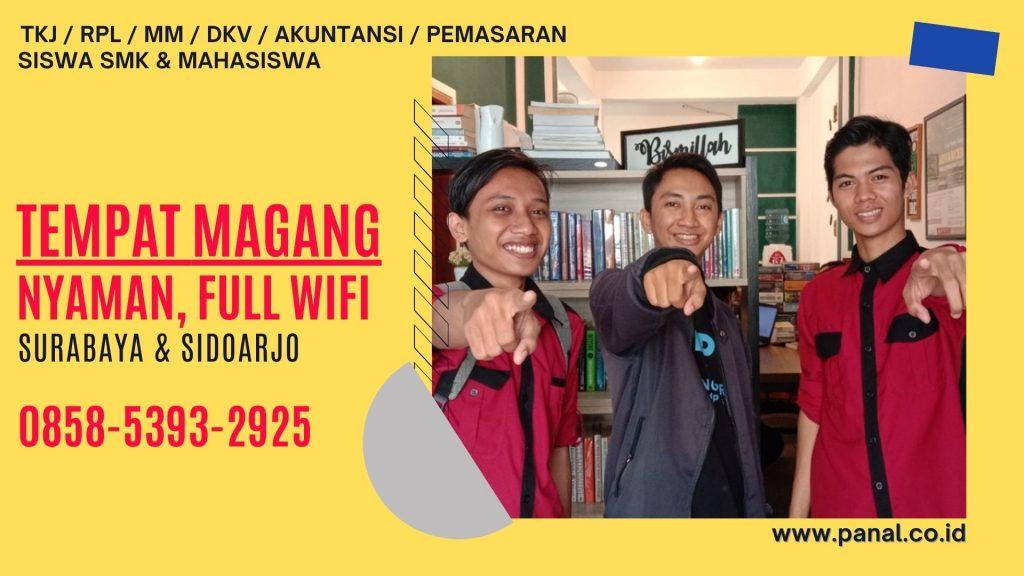 Info Magang PKL Sidoarjo